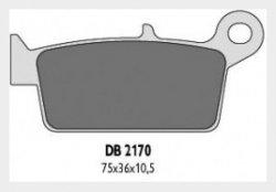 Delta Braking HONDA 250 CR (95-01) klocki hamulcowe tył