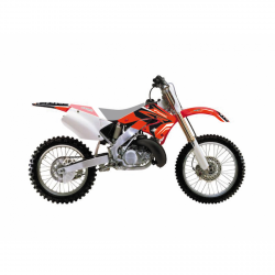 BLACKBIRD DREAM 4 HONDA CR 125 (00-01) OKLEINA KOMPLET NAKLEJEK