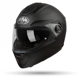 AIROH ST301 KASK MOTOCYKLOWY BLACK MATT CZARNY MAT