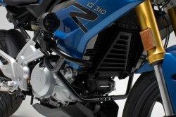 CRASHBAR/GMOL BMW G 310 R (16-)/G 310 GS (17-) BLACK SW-MOTECH