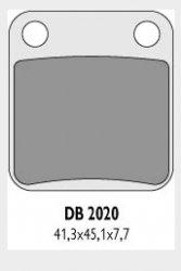 Delta Braking SUZUKI 125 DR (85-01) klocki hamulcowe przód