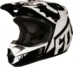FOX KASK V1 RACE BLACK