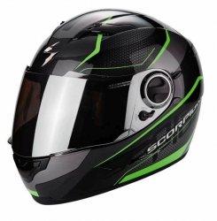 SCORPION EXO-490 kask motocyklowy czarny fluo