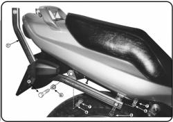 KAPPA K4320 stelaż kufra centralnego Kawasaki ER 5 (98-00)