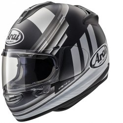 Arai Chaser-X Fence Silver + GRATIS