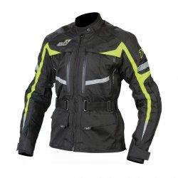 EVO77 NEON kurtka motocyklowa tekstylna długa Damska z membraną