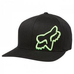 CZAPKA Z DASZKIEM FOX FLEX 45 BLACK/GREEN S/M