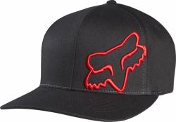 CZAPKA Z DASZKIEM FOX FLEX 45 BLACK/RED L/XL