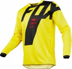BLUZA FOX 180 MASTAR YELLOW