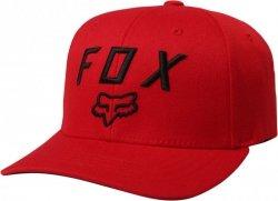 CZAPKA Z DASZKIEM FOX LEGACY MOTH 110 DARK RED OS