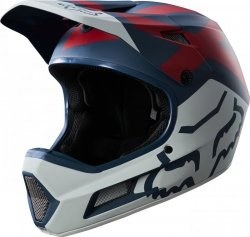 Kask Rowerowy Fox Rampage Comp Preme Blue/Red XL