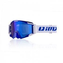 GOGLE IMX SAND BLUE/WHITE - SZYBA BLUE IRIDIUM + CLEAR (2 SZYBY W ZESTAWIE) OS