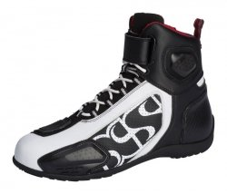 BUTY IXS RS-400 SHORT BLACK/WHITE 45