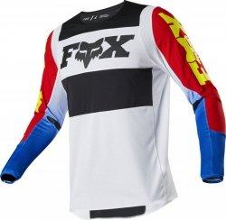 BLUZA FOX 360 LINC BLUE/RED XL