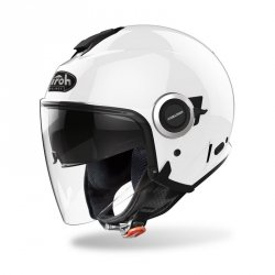 KASK AIROH HELIOS COLOR WHITE GLOSS S