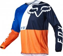 BLUZA FOX 180 LOVL ORANGE/BLUE