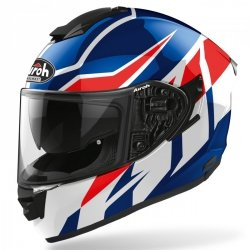 KASK AIROH ST501 FROST BLUE/RED GLOSS M
