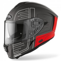 KASK AIROH SPARK CYRCUIT RED MATT S