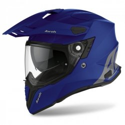 KASK AIROH COMMANDER COLOR BLUE MATT L
