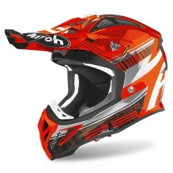 KASK AIROH AVIATOR 2.3 AMS2 NOVAK CHROME ORANGE S