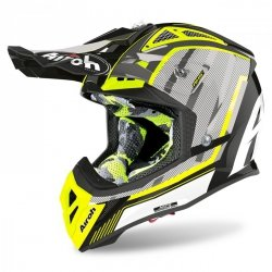 KASK AIROH AVIATOR 2.3 AMS2 GLOW CHROME YELLOW S