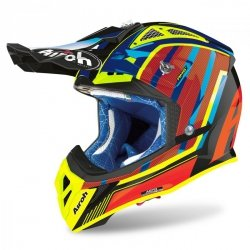 KASK AIROH AVIATOR 2.3 AMS2 GLOW CHROME ORANGE XL