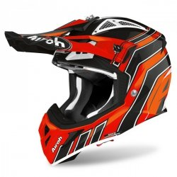 KASK AIROH AVIATOR ACE ART ORANGE GLOSS S