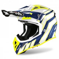 KASK AIROH AVIATOR ACE ART BLUE GLOSS L