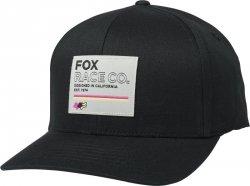 CZAPKA Z DASZKIEM FOX ANALOG FLEXFIT BLACK L/XL