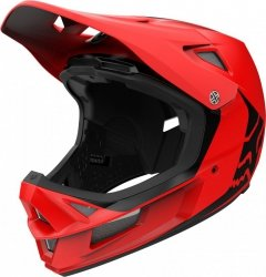 Kask Rowerowy Fox Rampage Comp Infinite Bright Red M