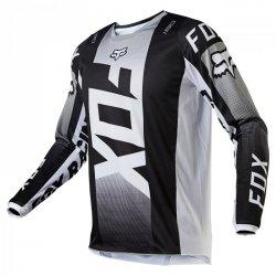 BLUZA FOX 180 OKTIV BLACK/WHITE XL