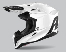 KASK AIROH AVIATOR 3 COLOR WHITE GLOSS M