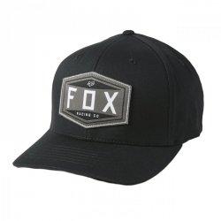 CZAPKA Z DASZKIEM FOX EMBLEM FLEXFIT BLACK S/M