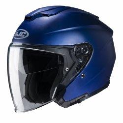 KASK HJC I30 SEMI FLAT METALLIC BLUE L