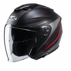 KASK HJC I30 SLIGHT BLACK/RED XL