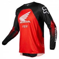 BLUZA FOX 180 HONDA BLACK/RED S