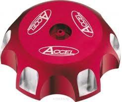 Accel korek wlewu paliwa - Honda CRF 250R (04-10) - czerwony