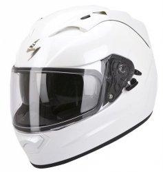Scorpion Exo-1200 kask motocyklowy biały połysk