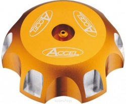Accel korek wlewu paliwa - Suzuki LTZ 250 (04-10) - złoty