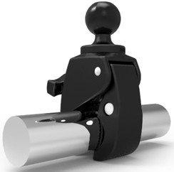 Ram mount Klamra zaciskowa Tough-Claw z 1 głowicą, rozmiar mały