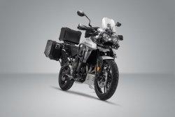 ZESTAW ADVENTURE PAKIET ZABEZPIECZAJĄCY MOTOCYKL TRIUMPH TIGER 800 MODELLE (15-16) SW-MOTECH