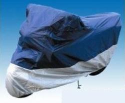 Pokrowiec na skuter niebiesko-srebrny rozmiar S