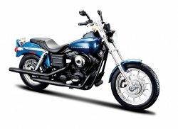 Model motocykla Harley Davidson Dyna Super Skala 1:12