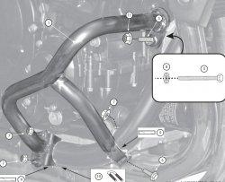 KAPPA Gmole Suzuki GSF 650 Bandit (07-12)