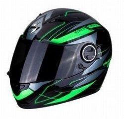 SCORPION KASK MOTOCYKLOWY  EXO-490  NOVA BLACK-GREEN