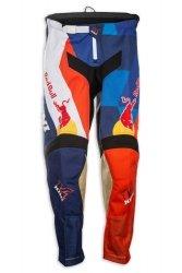 Kini Red Bull Vintage spodnie MX cross pomarańczowo-niebieskie