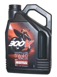 MOTUL 300V 4T FACTORY LINE 5W40 olej syntetyczny do silników 4-suwowych 4L