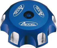 Accel korek wlewu paliwa - Suzuki RM 125/250 (96-10) - niebieski
