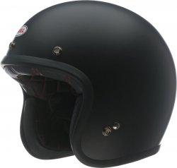 BELL CUSTOM 500 VINTAGE KASK MOTOCYKLOWY SOLID MATTE BLACK