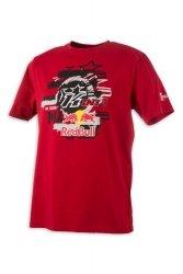 KINI RED BULL Layered T-Shirt koszulka czerwona